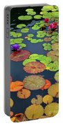 Water Lilies I Portable Battery Charger