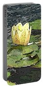 Water Lily Cometh Portable Battery Charger