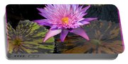 Water Lily Magic Portable Battery Charger