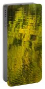 Water Reflection Abstract Autumn 1 E Portable Battery Charger