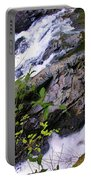 Water Running Down Ledge Portable Battery Charger
