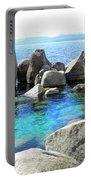 Water Stonehenge Lake Tahoe Portable Battery Charger