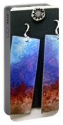 Watercolor Earrings Artists Favorite Portable Battery Charger