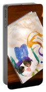 Watercolor Portable Battery Charger