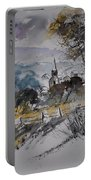 Watercolor Lesterny Portable Battery Charger