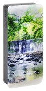 Waterfall At Gladwynn Portable Battery Charger