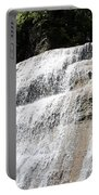 Waterfall At Treman State Park Ny Portable Battery Charger