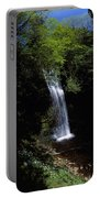 Waterfall In A Forest, Glencar Portable Battery Charger