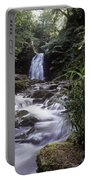Waterfall In A Forest, Glenoe Portable Battery Charger