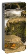 Waterfall In Fall Portable Battery Charger