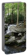 Waterfall In Stream Portable Battery Charger