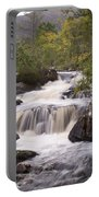 Waterfall In The Highlands Portable Battery Charger