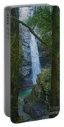 Waterfall In The Woods Portable Battery Charger