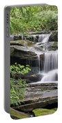 Waterfall Near Mabbitt Spring Portable Battery Charger