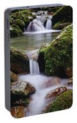 Waterfall, Peter Lougheed Provincial Portable Battery Charger