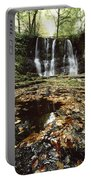 Waterfalls, During The Autumn, Glenoe Portable Battery Charger
