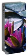 Waterlilies In Bright Sunlight Portable Battery Charger