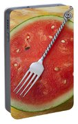 Watermelon And Fork Portable Battery Charger