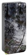 Watersplash In Sunlight Portable Battery Charger