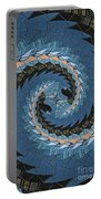 Wave Mosaic. Portable Battery Charger