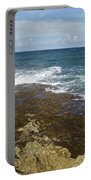 Waves Breaking On Shore 7930 Portable Battery Charger