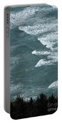 Waves In The Sky Portable Battery Charger