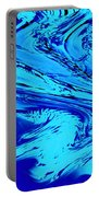 Waves Of Abstraction Portable Battery Charger