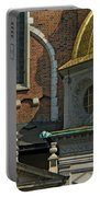 Wawel Domes In Krakow Poland Portable Battery Charger
