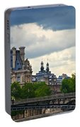 Weather In Paris Portable Battery Charger