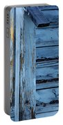 Weathered Blue Portable Battery Charger