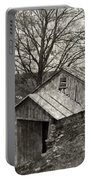 Weathered Hillside Barn Portable Battery Charger