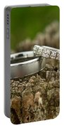 Wedding Bands And Fence Post 12 Portable Battery Charger