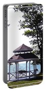 Wedding Gazebo By Lake Erie At Evangola State Park Portable Battery Charger