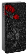 Weep Of A Rose  Portable Battery Charger