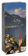 Weggis Switzerland Portable Battery Charger