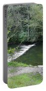 Weir Below Lover's Leap - Dovedale Portable Battery Charger