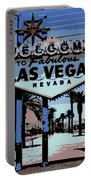 Welcome To Vegas  Portable Battery Charger