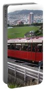 Tram Car Viewpoint - Wellington, New Zealand Portable Battery Charger