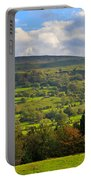 Wensleydale Near Westholme Bank In The Yorkshire Dales Portable Battery Charger