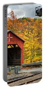 West Virginia Covered Bridge - Carrollton Portable Battery Charger
