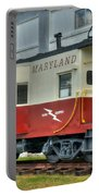 Western Maryland Caboose  Portable Battery Charger
