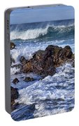 Wet Lava Rocks Portable Battery Charger