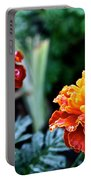 Wet Marigolds  Portable Battery Charger