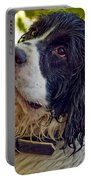 Wet Puppy Portable Battery Charger