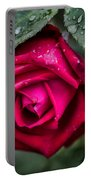 Wet Weather Rose Portable Battery Charger