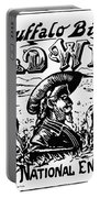 W.f. Cody Poster Portable Battery Charger