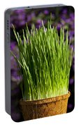 Wheat Grass Portable Battery Charger