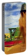 Wheat Harvest Portable Battery Charger