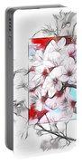 When The Almond Trees Are In Blossom  Portable Battery Charger