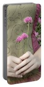 Where Have All The Flowers Gone Portable Battery Charger by Angelina Vick